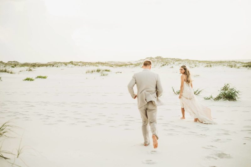 Pensacola beach wedding by Jordan Burch Photography