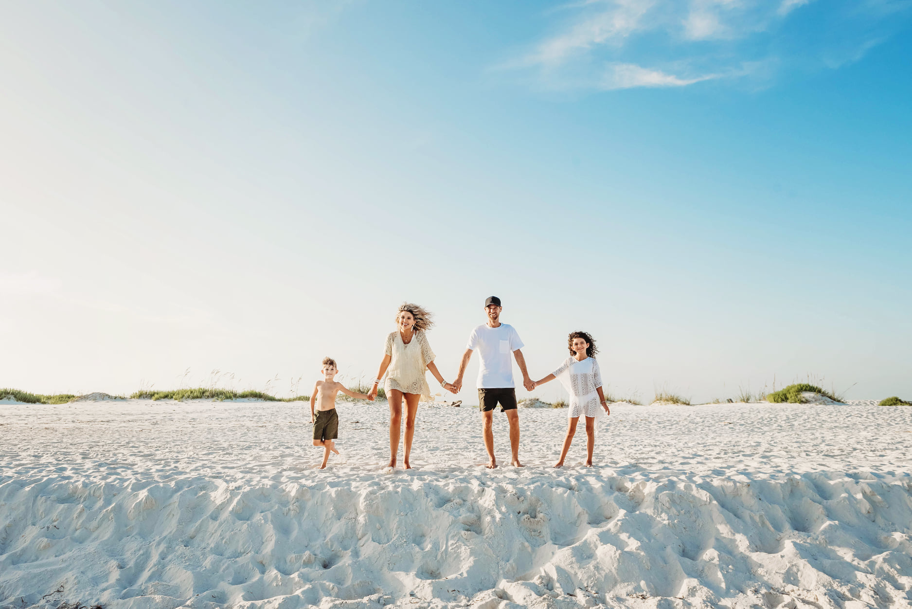 pensacola beach family photography by Jordan Burch