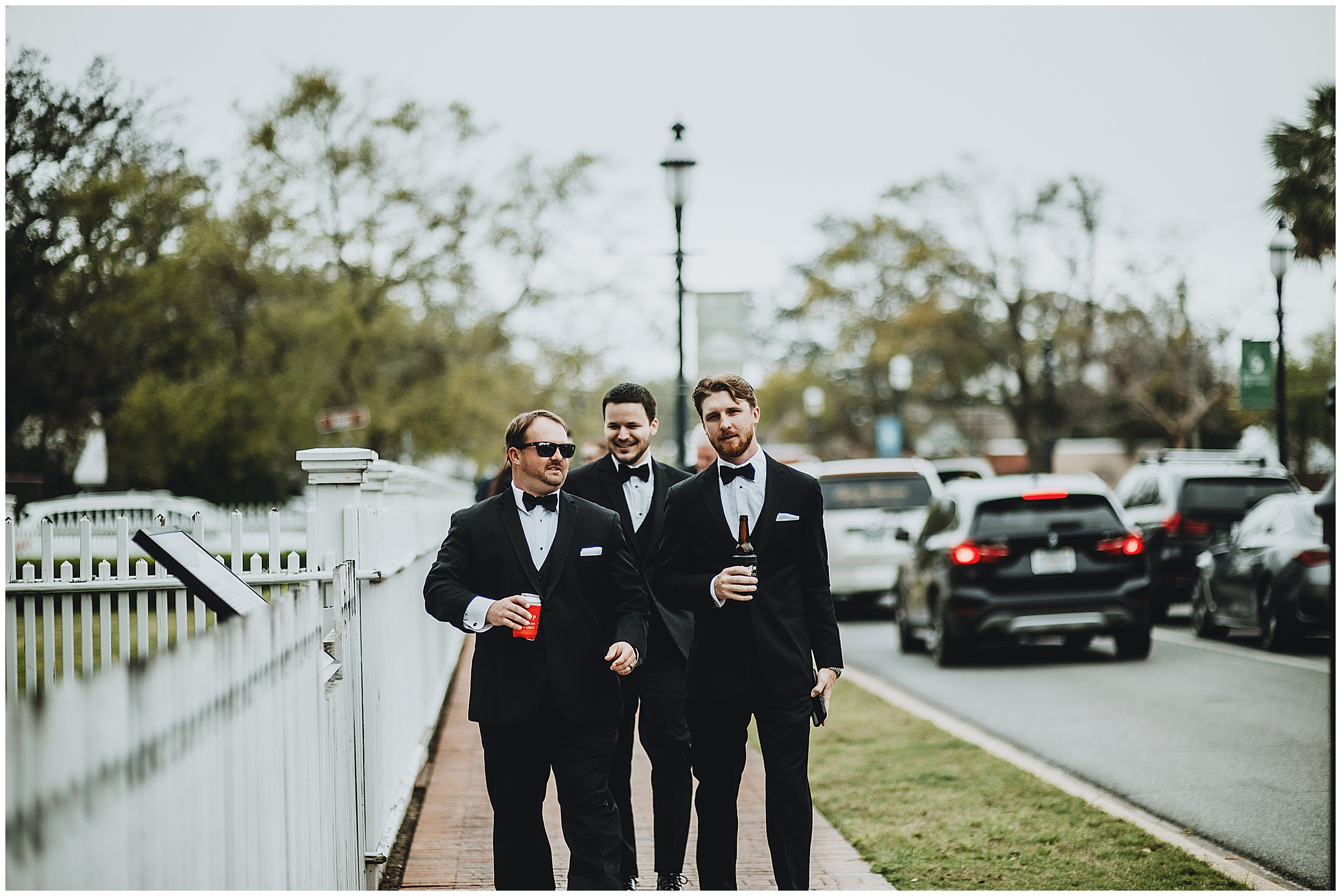 Wedding in Pensacola, Florida at Old Christ Church and Palafox House by Jordan Burch